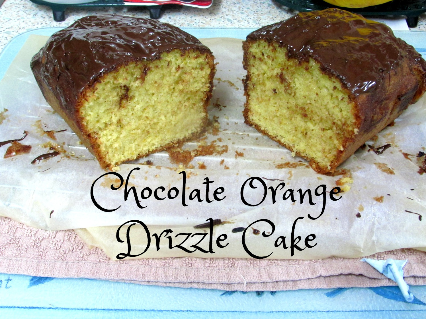 Chocolate Orange Drizzle Cake
