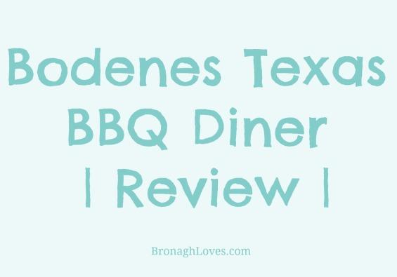 Bodenes Diner Review